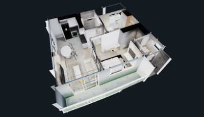 One Milênio – 61,60m² 3D Model